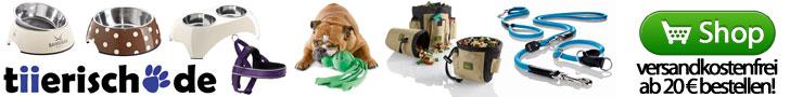 Hundeshop online bei tiierisch.de