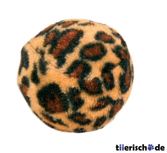 4 katzen spielb lle leopardenmuster 4109 von trixie g nstig bestellen bei. Black Bedroom Furniture Sets. Home Design Ideas