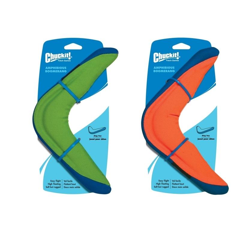 chuckit amphibious boomerang hunde bumerang von chuckit g nstig bestellen bei. Black Bedroom Furniture Sets. Home Design Ideas