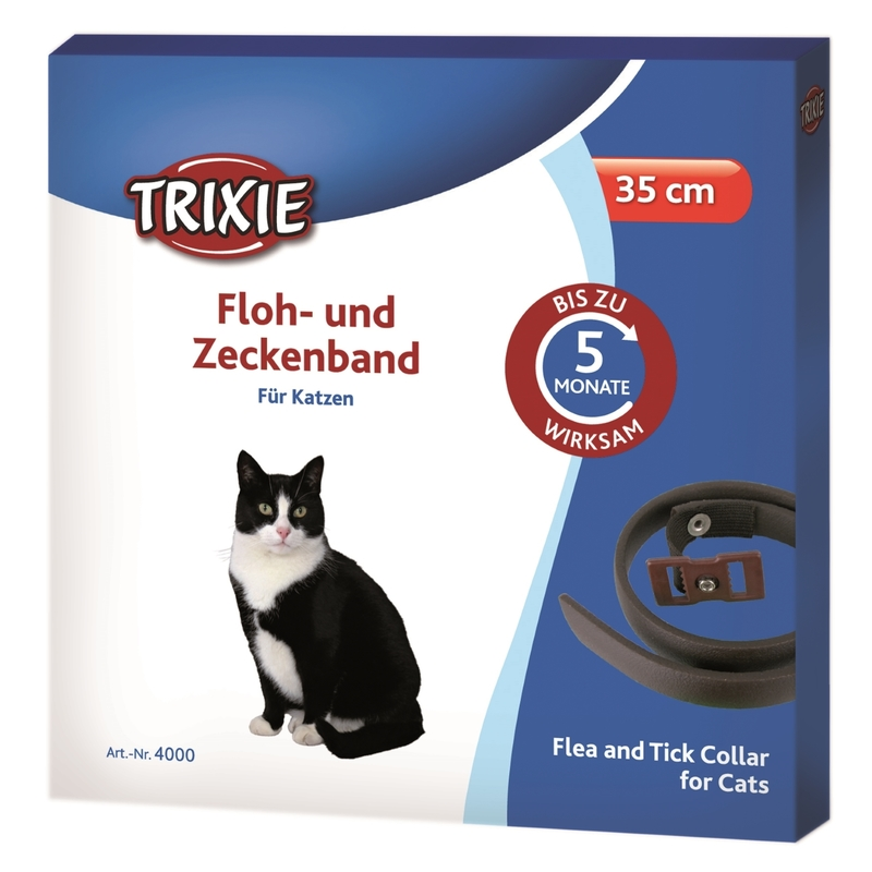 flohhalsband zeckenband f r katzen 35 cm 4000 von trixie g nstig bestellen bei. Black Bedroom Furniture Sets. Home Design Ideas