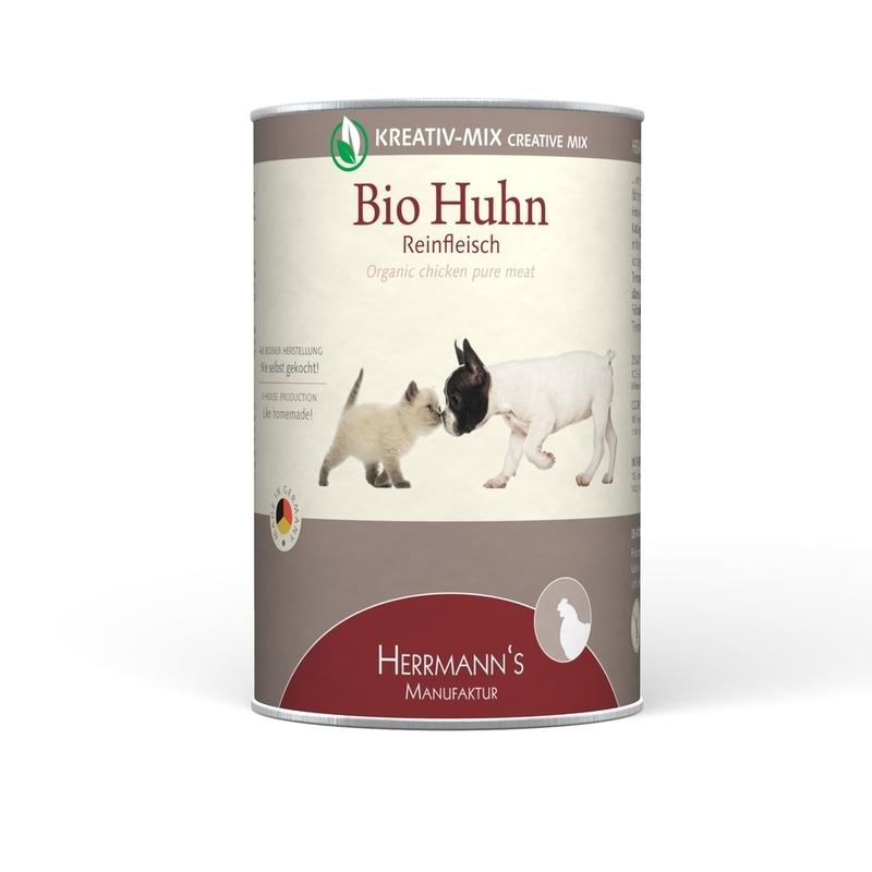 herrmanns bio hundefutter reinfleisch dose von herrmanns g nstig bestellen bei. Black Bedroom Furniture Sets. Home Design Ideas