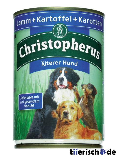 christopherus hundefutter lterer hund dosen von allco g nstig bestellen bei. Black Bedroom Furniture Sets. Home Design Ideas