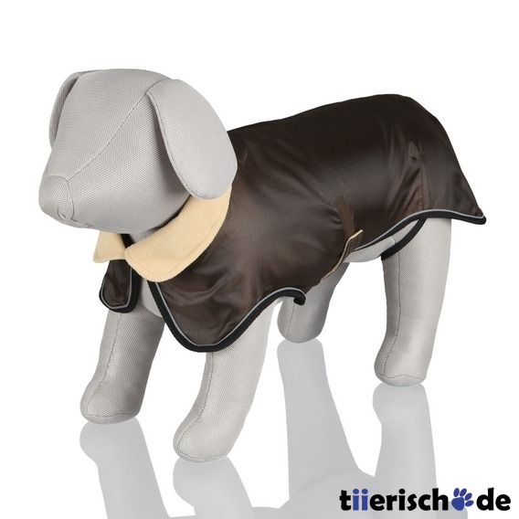 Trixie Hundemantel Avallon braun, M, R&#252;cken: 45 cm, Brust: 50-60 cm, braun