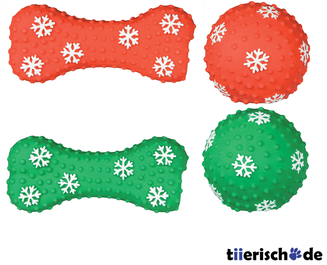Hundespielzeug Latex Schlepper