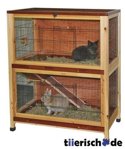 kleintierk fig doppelst ckig holz indoor von kerbl g nstig. Black Bedroom Furniture Sets. Home Design Ideas