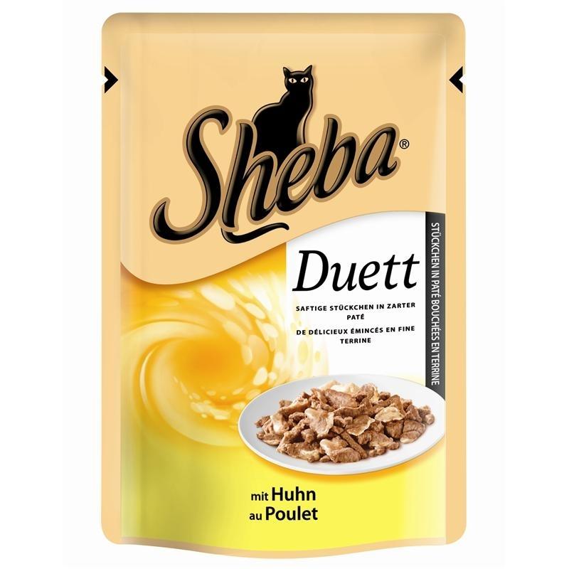 sheba duett katzenfutter von sheba g nstig bestellen bei. Black Bedroom Furniture Sets. Home Design Ideas