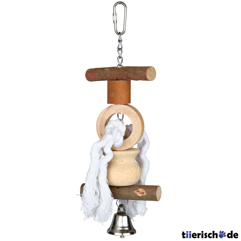 Spielzeug für vögel aus holz von trixie günstig