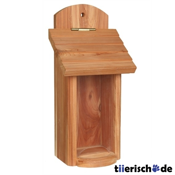 vogelfutterspender aus holz 55843 von trixie g nstig bestellen bei. Black Bedroom Furniture Sets. Home Design Ideas