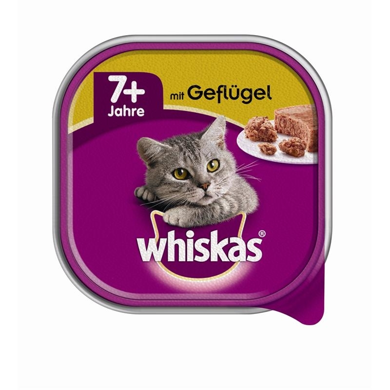 whiskas schale senior 7 katzenfutter von whiskas g nstig bestellen bei. Black Bedroom Furniture Sets. Home Design Ideas