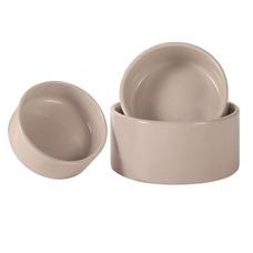 3er Satz Kleintiernäpfe aus Keramik