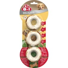 8in1 Delights Kauringe fr Hunde