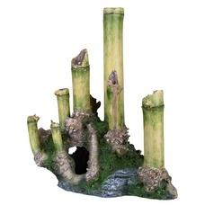 Aquarium Bambus mit Höhle