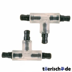 2 T-Stcke fr Aquarium Schlauch