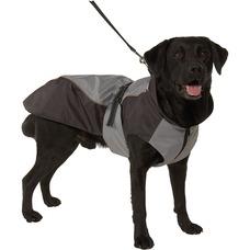 Buster Hundewintermantel, S Rücken 32cm, Brust 40-50 cm, grau/asche