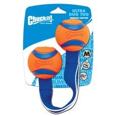 Chuckit Ultra Tug Duo Hundespielzeug, Medium, 6,5 cm