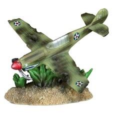 Flugzeugwrack fürs Aquarium