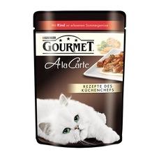 Gourmet Frischebeutel a la Carte Katzenfutter