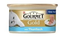 GOURMET Gold Feine Pastete Katzenfutter