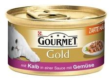 Gourmet Gold Zarte Häppchen Katzenfutter