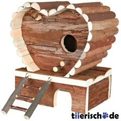 Hamsterhaus aus Holz Svantje