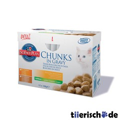 Hills Feline Katzenfutter Nassfutter im Multipack