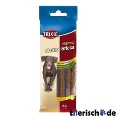 6 Chicken Natur Sticks, Hunde Leckerlie