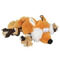 Fuchs mit Taubeinen Plüschtier für Hunde