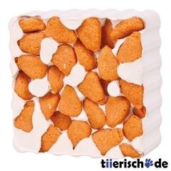 Nagestein mit Karotten-Nuggets