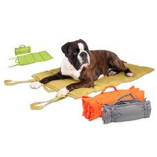Hundedecke für Unterwegs Wave Blanket, L: 107 cm B: 71 cm orange