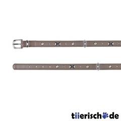 Hundehalsband Leder mit Applikationen Active Soft, Active Soft, S: 31?37 cm/18 mm, taupe