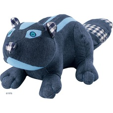 Hundespielzeug Skibby, Stinktier, ca. 30 cm, blau