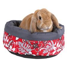 Kuschelbettchen Flower für Kaninchen
