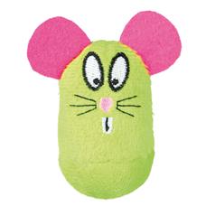 Plüschspielzeug für Katzen Steh-auf-Maus