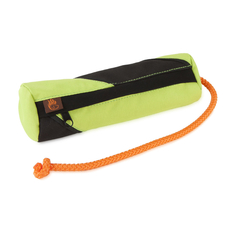 Profi Futterdummy für Hunde, large khaki/orange, ca. 24 cm,  ø ca. 6,5 cm