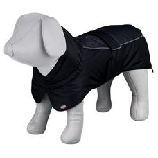 Trixie Hundewintermantel Prime, M: Brust 53?72 cm, Rückenlänge 45 cm, schwarz/grau