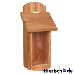 Vogelfutterspender aus Holz