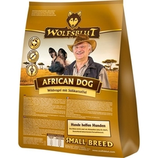 Wolfsblut African Dog Small Breed Hundefutter, 2 kg