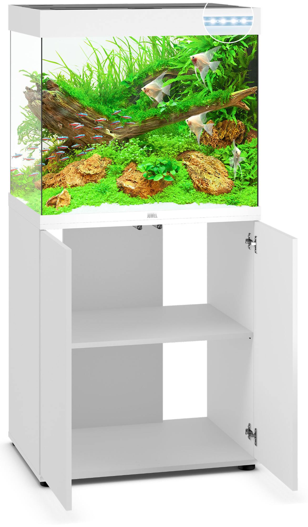 Juwel lido 200 led aquarium mit unterschrank ebay for Aquarium mit unterschrank