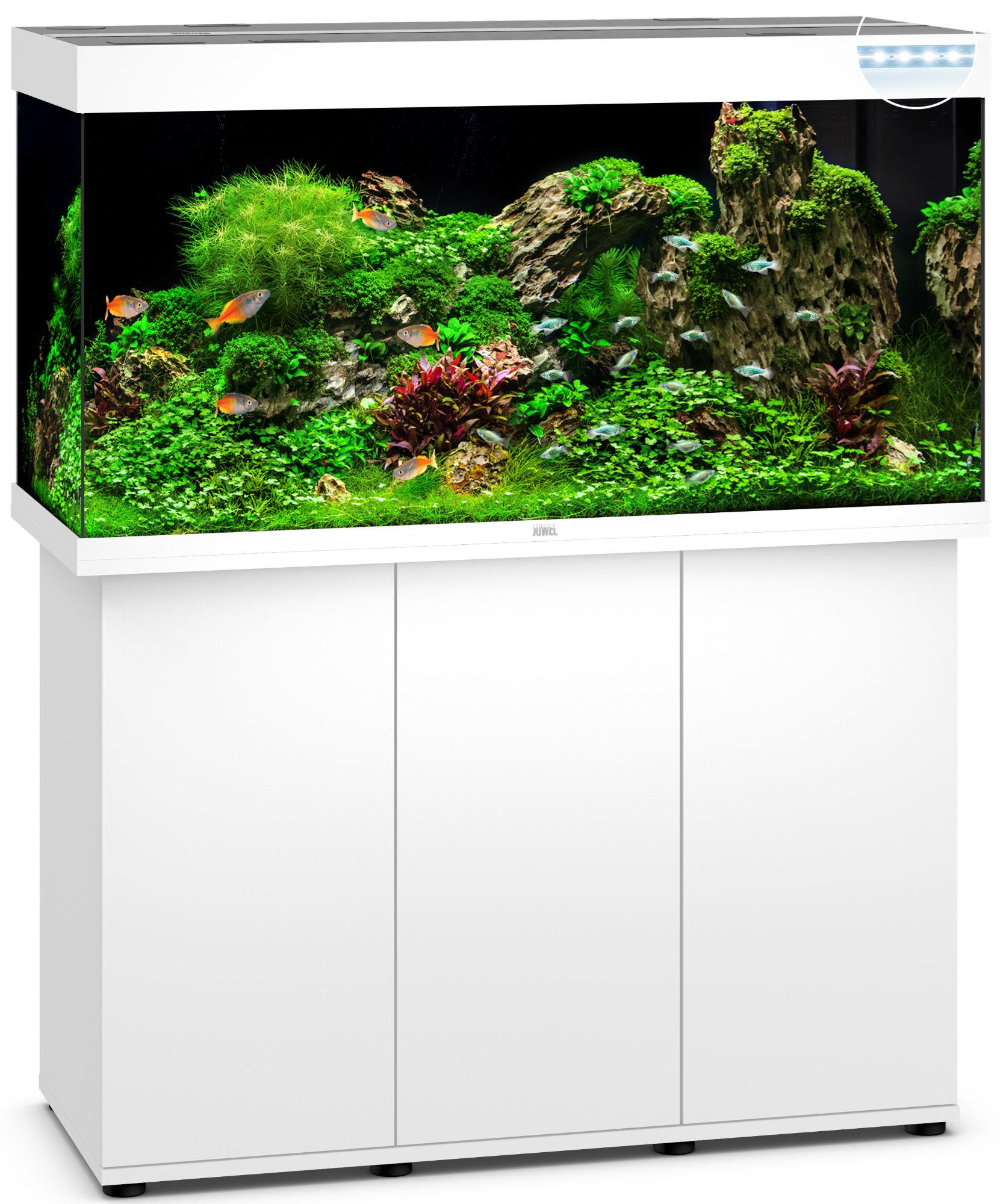 juwel rio 350 led aquarium mit unterschrank ebay. Black Bedroom Furniture Sets. Home Design Ideas