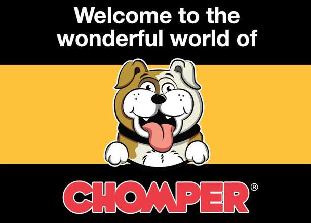 CHOMPER Hundespielzeug