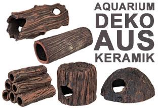 Aquarium Deko aus Keramik