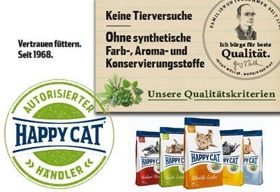 Happy Cat Katzenfutter günstig
