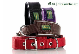Hunter Neopren Reflect Hundehalsband