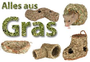 Kleintierzubehör aus Gras
