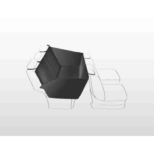 Auto Hundedecke mit Seitenteilen für Rücksitz Bild 4