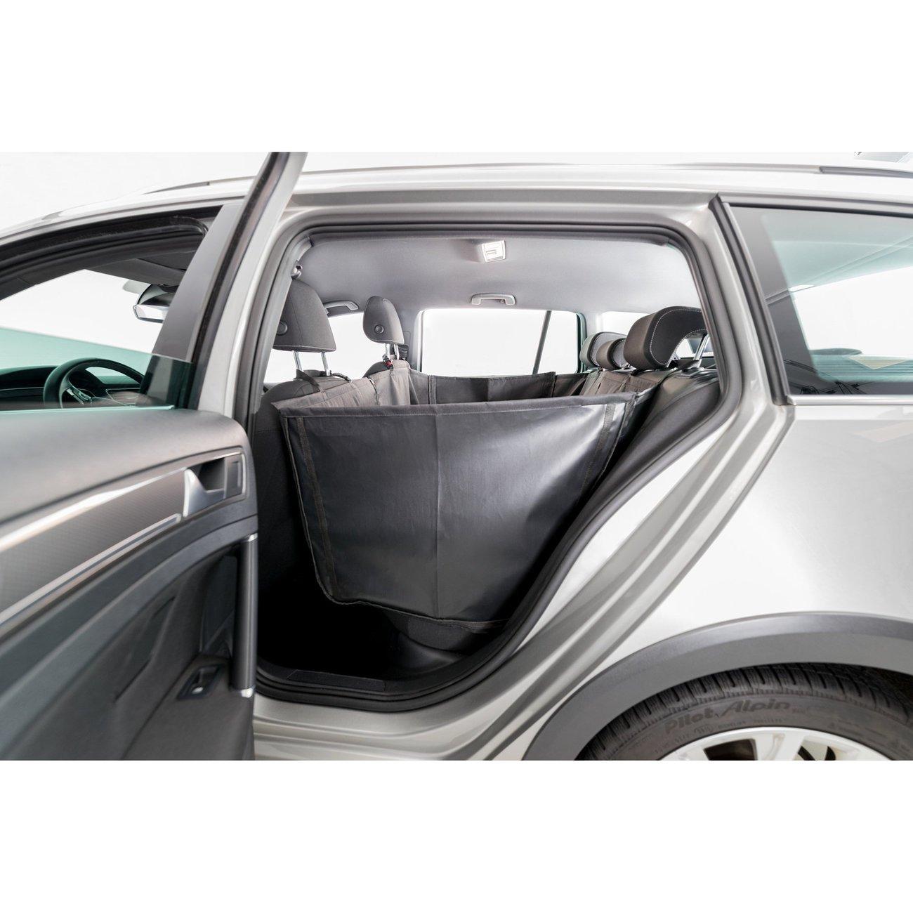 Auto Hundedecke mit Seitenteilen für Rücksitz Bild 5