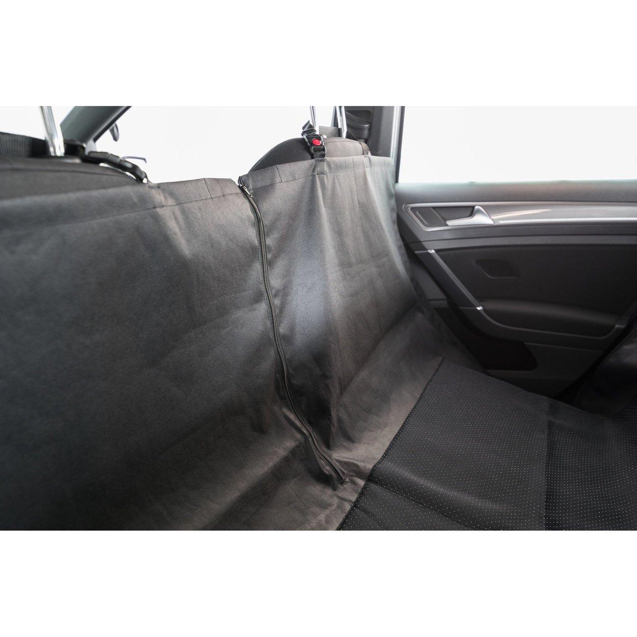 Auto Hundedecke mit Seitenteilen für Rücksitz Bild 6
