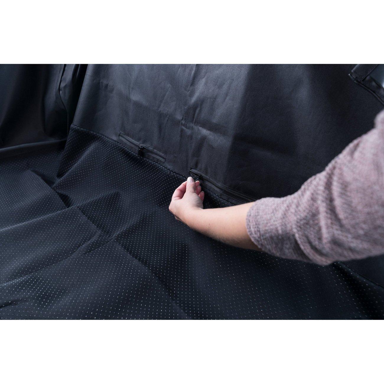 Auto Hundedecke mit Seitenteilen für Rücksitz Bild 10