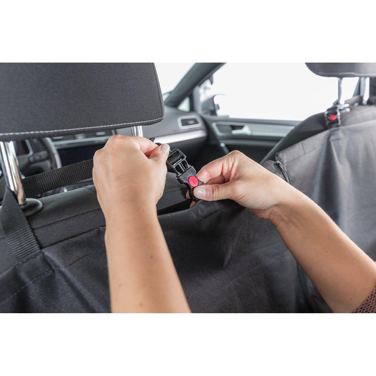 Auto Hundedecke mit Seitenteilen für Rücksitz Bild 12