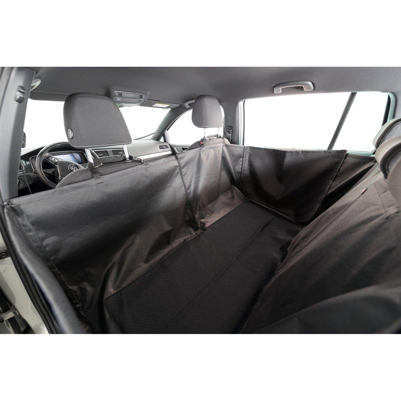 Auto Hundedecke mit Seitenteilen für Rücksitz Bild 18
